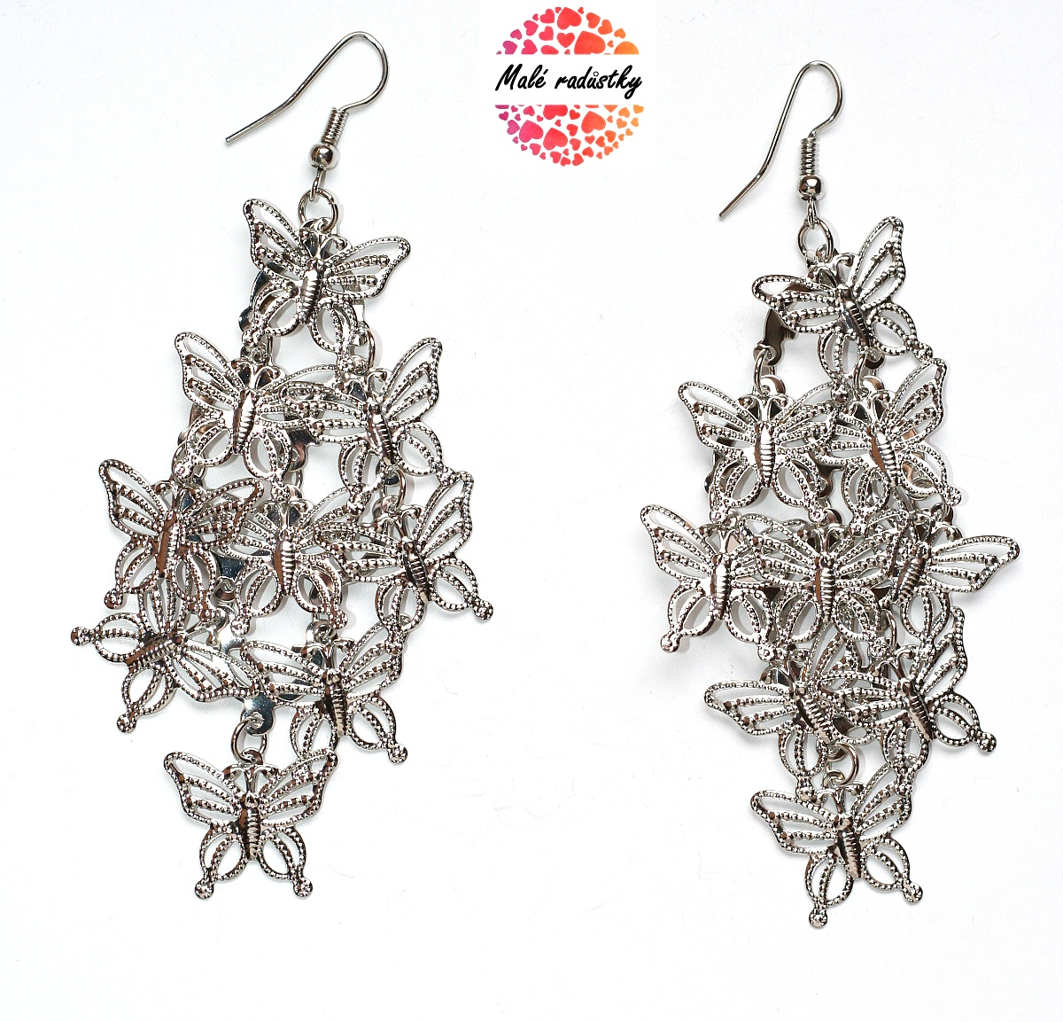 Náušnice Fashion Jewerly - motýlci 109