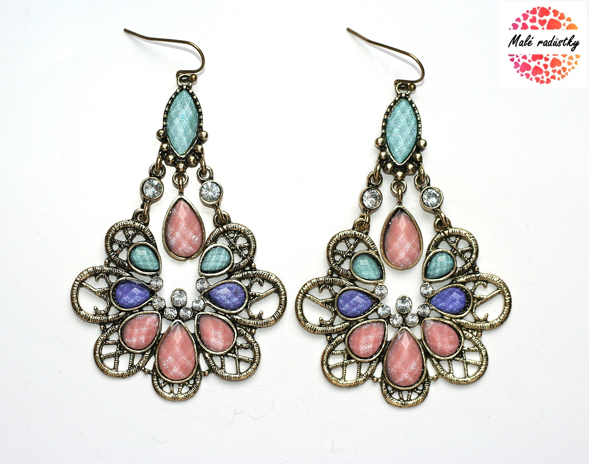 Náušnice Fashion Jewerly - Romantická Lady 126