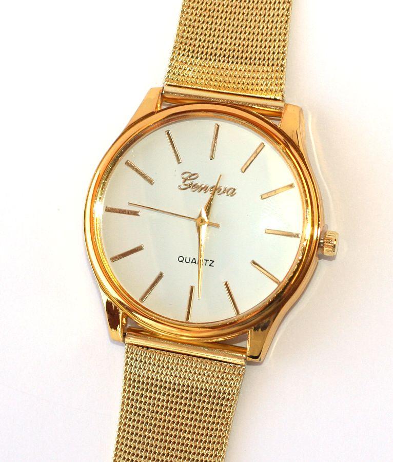 41a2f411f Dámské hodinky Fashion Jewerly - Zlatá elegance Genev 1491   Krásné ...