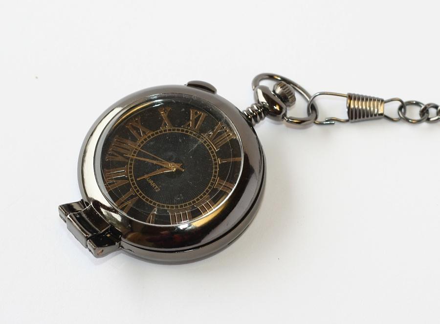 020365e57 MR kapesní, otevírací hodinky na řetízku - Luxusní podnikatel 1781 ...