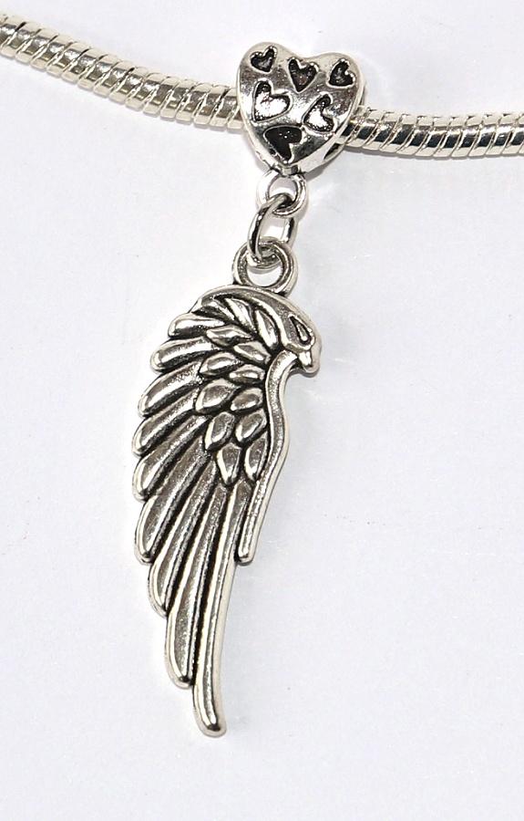 Korálek Fashion Jewerly - Přívěsek Andělské křídlo větší 1cca061028