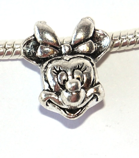 Korálek Fashion Jewerly - Myška a myšák, Mickey a Minnie, Love Mouse 2415