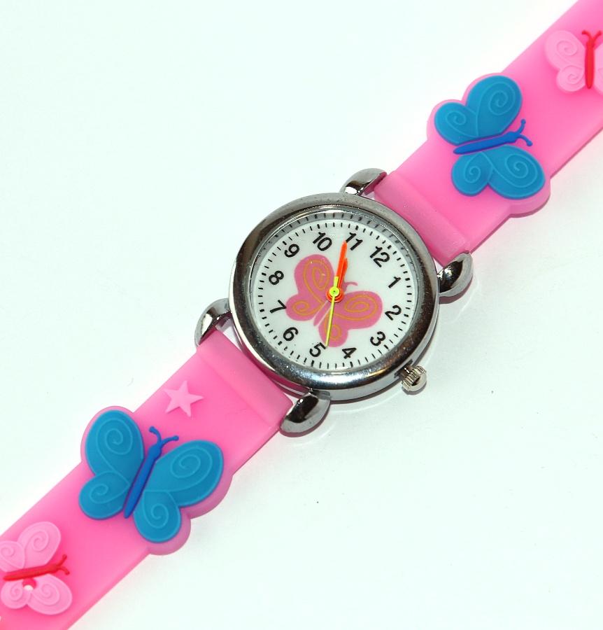 Dětské hodinky Fashion Jewerly - Motýlek 28a819bfa4e