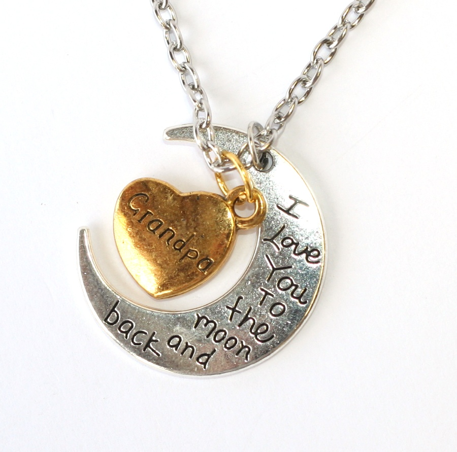 Řetízek Fashion Jewerly - I love you to the moon and back 393