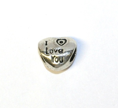 Korálek Fashion Jewerly - Srdce I Love You 1072
