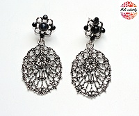 Náušnice Fashion Jewerly - Stříbrný list 153