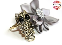 Prsten Fashion Jewerly - Sova, Owl 186