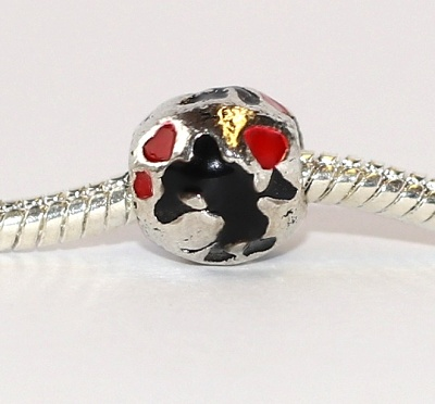 Korálek Fashion Jewerly - Silueta myšek, Minnie, Mickey, srdíčka 2293