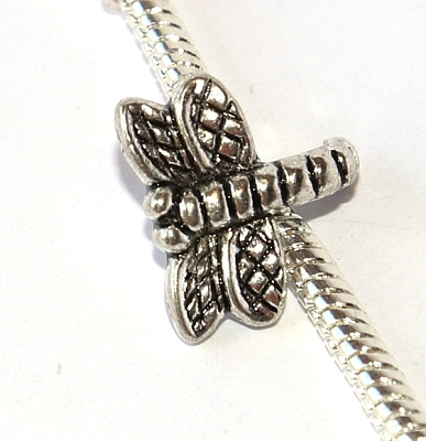 Korálek Fashion Jewerly - Vážka, Silver Dragonfly 2400