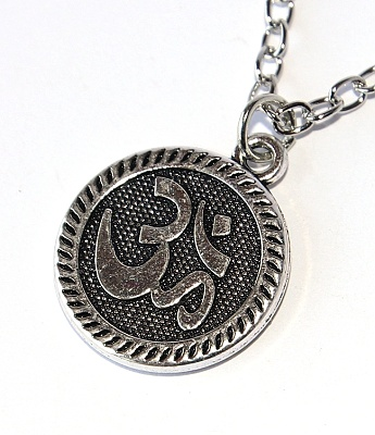 Řetízek Fashion Jewerly - Amulet Óm, Yoga, Namaste, Meditace 2811