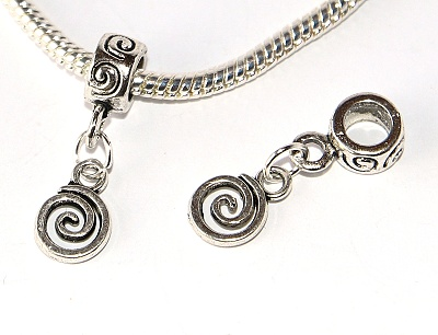 Korálek Fashion Jewerly - Spirála, Labyrint, Kruh, Cesta, Spiral 2921
