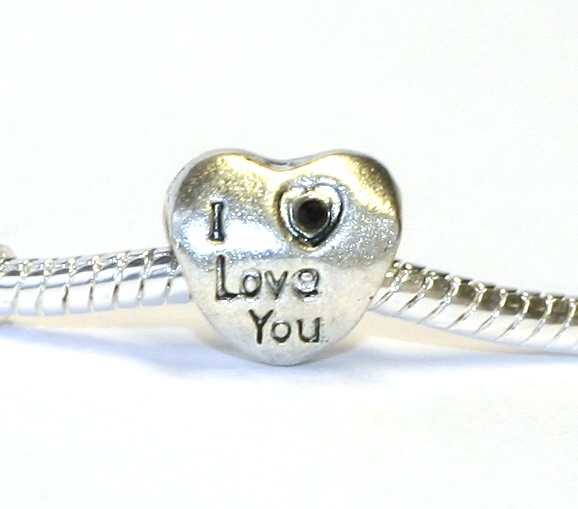 Korálek Fashion Jewerly - Srdce I love you 1107