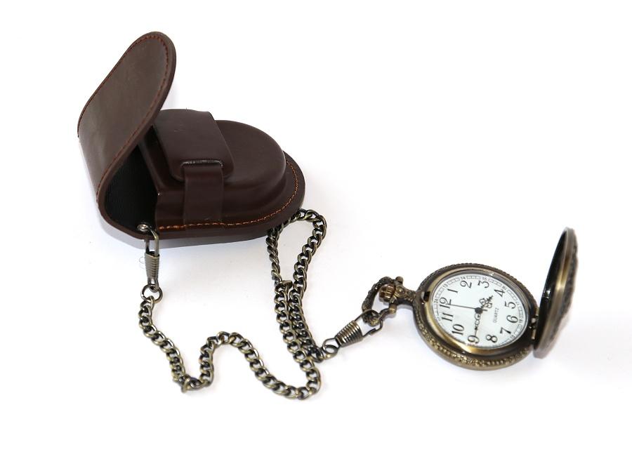3d348a0e9db Pouzdro s řetízkem na kapesní hodinky - Original Style