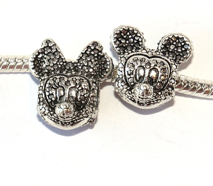 Korálek Fashion Jewerly - Myška a myšák, Mickey a Minnie, Puntíčky, Love Mouse 2414