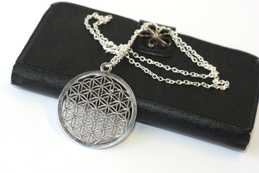 Řetízek Fashion Jewerly - Květ života, Merkaba, Flower of life 1529